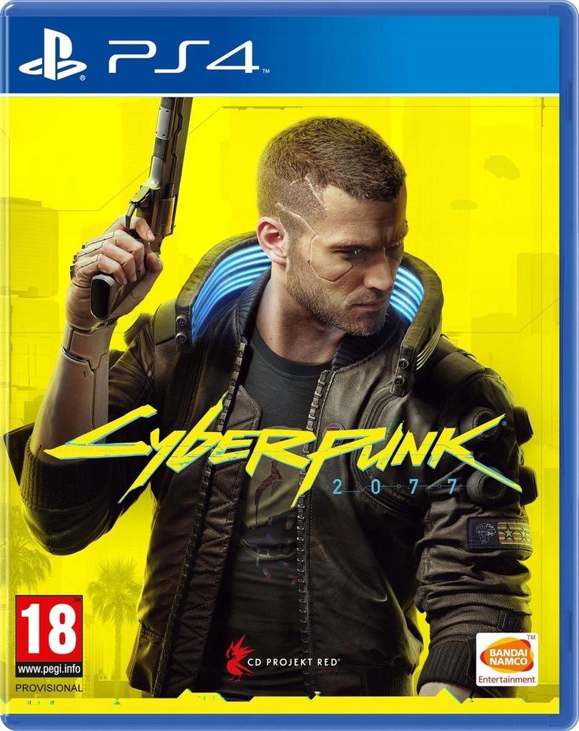 CYBERPUNK 2077 PL + BONUSY CYBER PUNK PS4 WROCŁAW