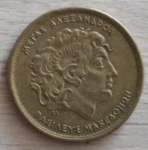 100 DRACHM 1992 GRECJA