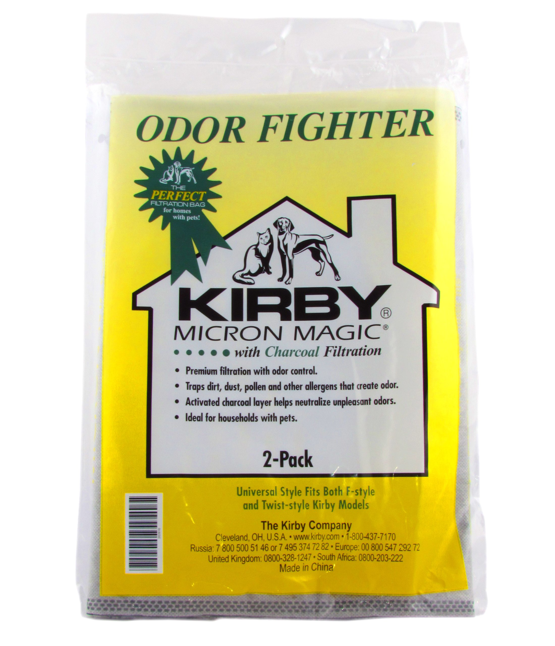 KIRBY VACUUM CLEANER BROWN PAPER BAGS G3 G4 G5 G6 ULTIMATE G G7 G7D MICRON MAGIC