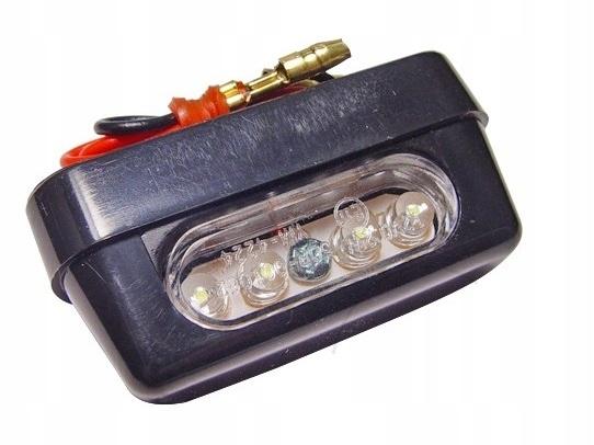 Podświetlenie tablicy rejestracyjnej LED oświetlen